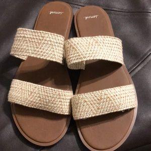 Sanuk slide sandals